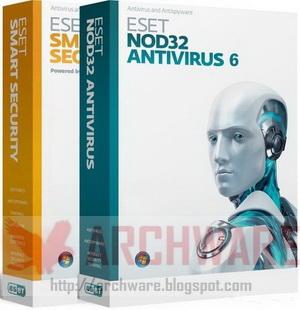 036 ESET Smart SecurityและESET NOD32 Antivirus v6 ภาษาไทยและอังกฤษ + [Activation 100%]