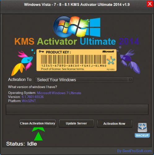 670 Windows Vista - 7 - 8 - 8.1 KMS Activator Ultimate 2014 v1.9 ตัวใหม่ล่าสุด