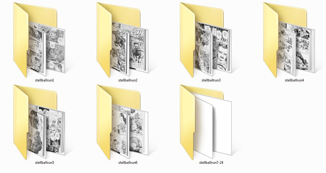 1356 โจโจ้ ล่าข้ามศตวรรษ ภาค 7 เล่ม 1-24 จบ (ไฟล์ JPG)