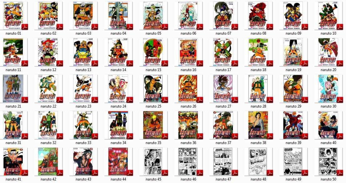 1406 Naruto นารูโตะ เล่ม 1-72 2DVD
