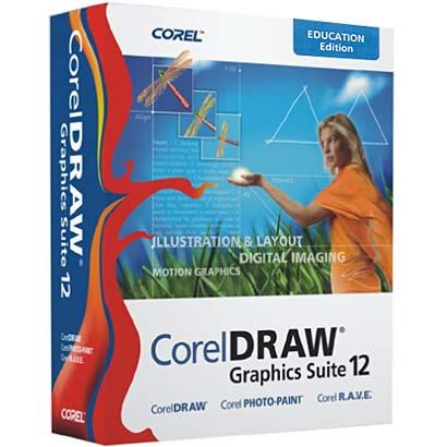 1890 Corel Draw Graphics Suite 12