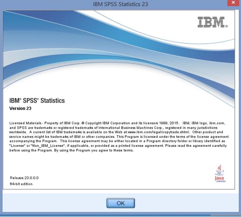 2220 SPSS Statistics V.23 x86&x64