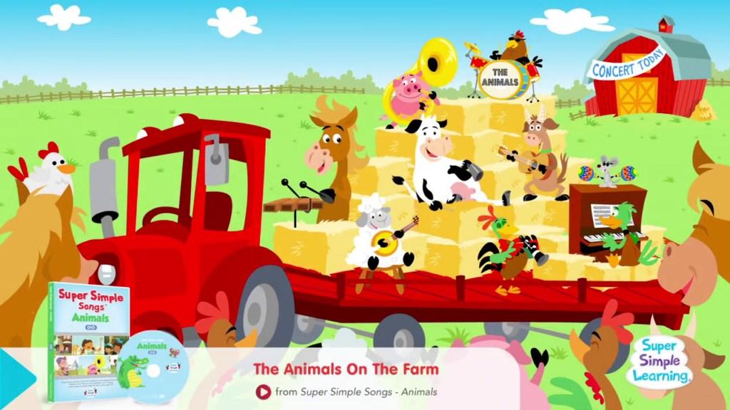 2223 Animal Sounds Songs การเรียนรู้สำหรับเด็ก (mp4)