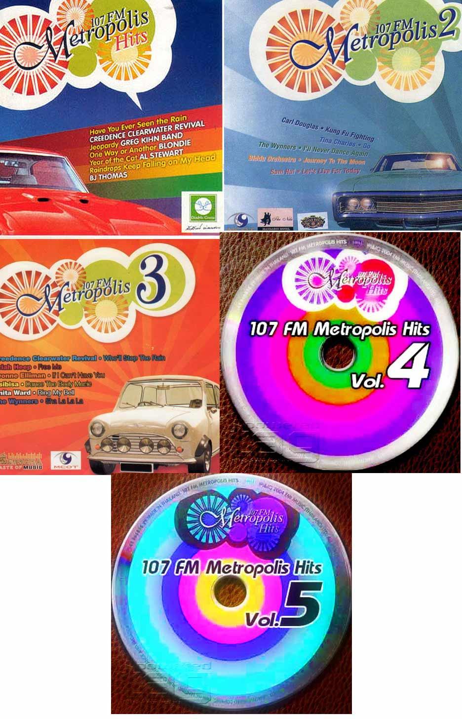 2234 107 Fm Metropolis Hits Vol.1-5