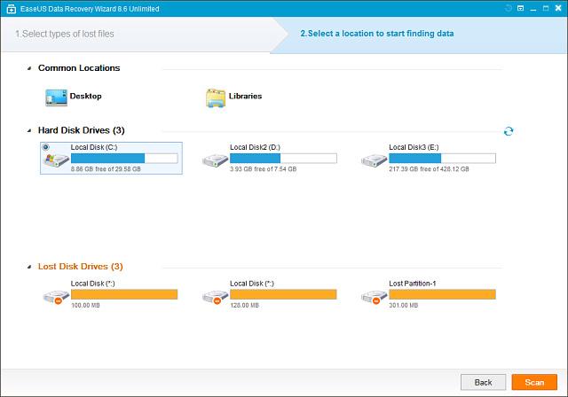2239 EaseUS Data Recovery Wizard Unlimited 8.8 โปรแกรมกู้ข้อมูลชื่อดัง ล่าสุด