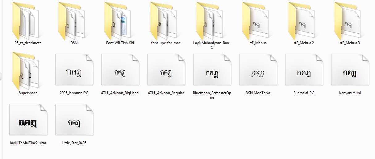 2698 รวม Font For Macbook