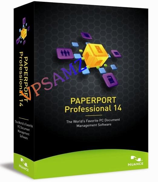 2905 Nuance PaperPort Professional 14 สุดยอดโปรแกรม สร้างไฟล์ pdf
