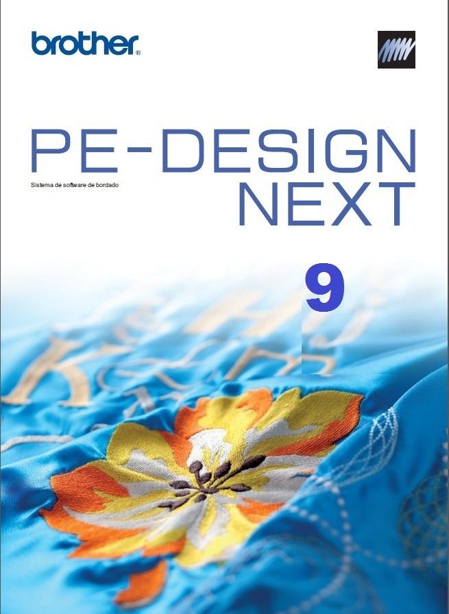 2983 โปรแกรมปักชื่อ โลโก้ PE-Design Next 9.0 ของ Brother (Full)