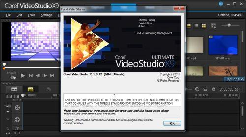 3093 Corel VideoStudio Ultimate X9 19.3 x86+x64