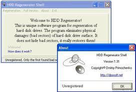 3101 โปรแกรมซ่อมฮาร์ดดิส HDD Regenerator 2013(Full)