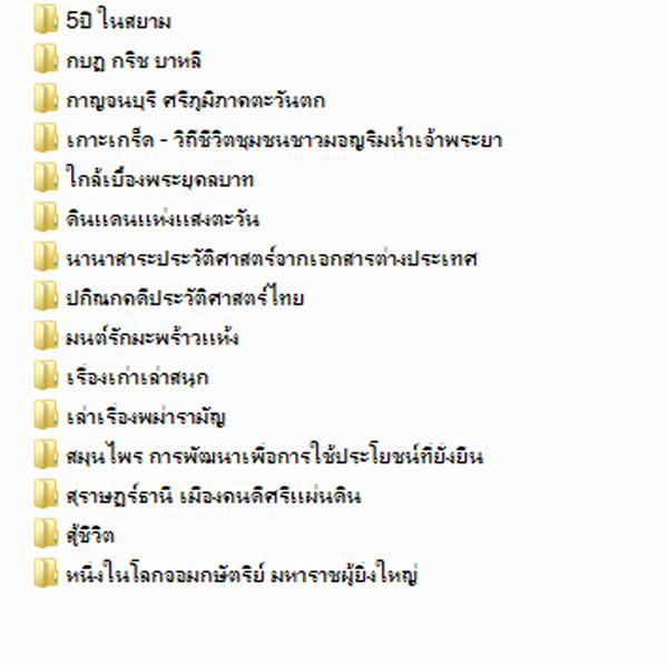 3122 หนังสือเสียง Mp3 วรรณกรรมสารคดี  รวม15เรื่อง 3DVD