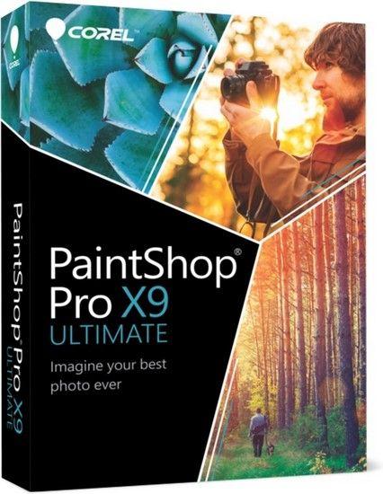 3163 Corel PaintShop Pro X9 Ultimate 19.0.2.4+Ultimate Content