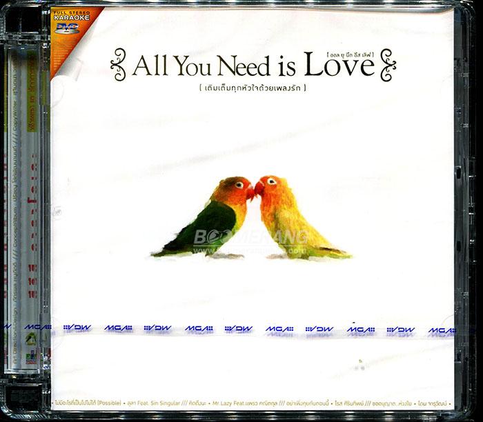 3228 DVD Karake All You Need Is Love 1
