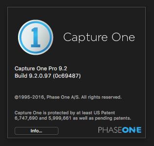 3296 Capture One Pro 9.2 จัดการไฟล์ RAW อย่างเป็นระบบ (MAC)