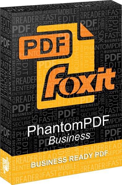 3359 Foxit PhantomPDF Business 8.1.1 โปรแกรมสร้างและจัดการ ไฟล์ PDF