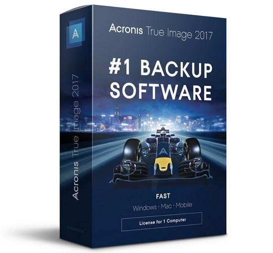 3519 Acronis True Image 2017  21.0.Multilingual  Backup ข้อมูล