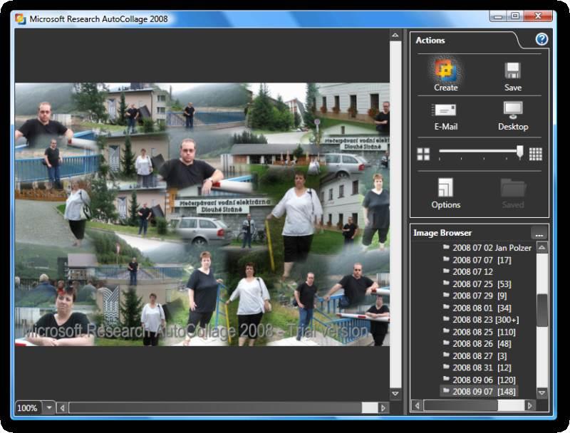 4089 Microsoft Auto Collage Academic รวมรูปหลายรูปเป็นรูปเดียว