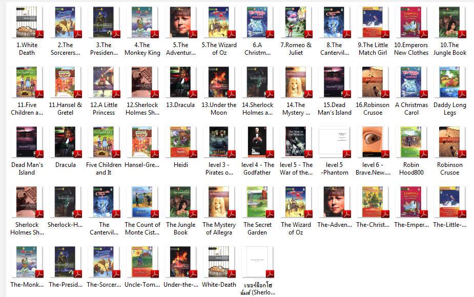 4199 Ebook รวมหนังสือ Oxford Bookworm ฝึกอังกฤษจากนิยาย มีคำแปลหน้า