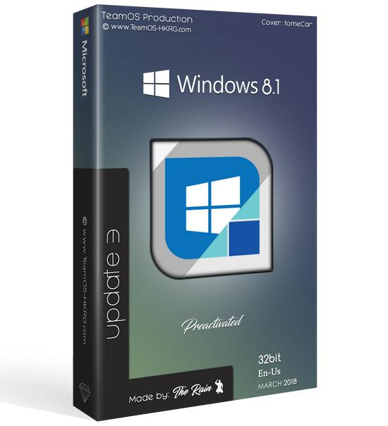 4294 Windows 8.1 Pro Vl Update 3 x86 En-Us ESD March2018 Pre-Activated