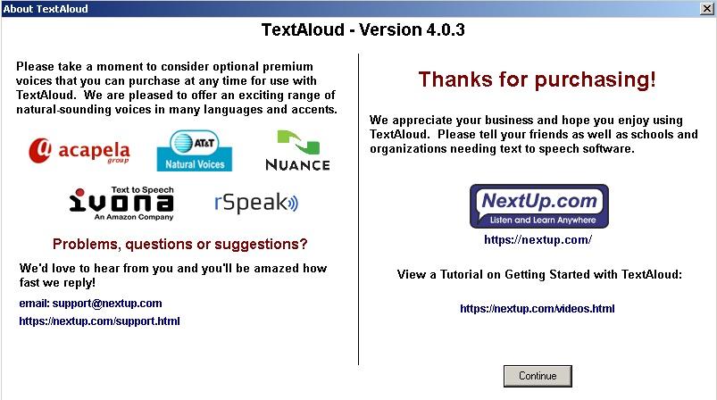 4409 TextAloud V4.0.3 เปลี่ยน Text เป็น .mp3