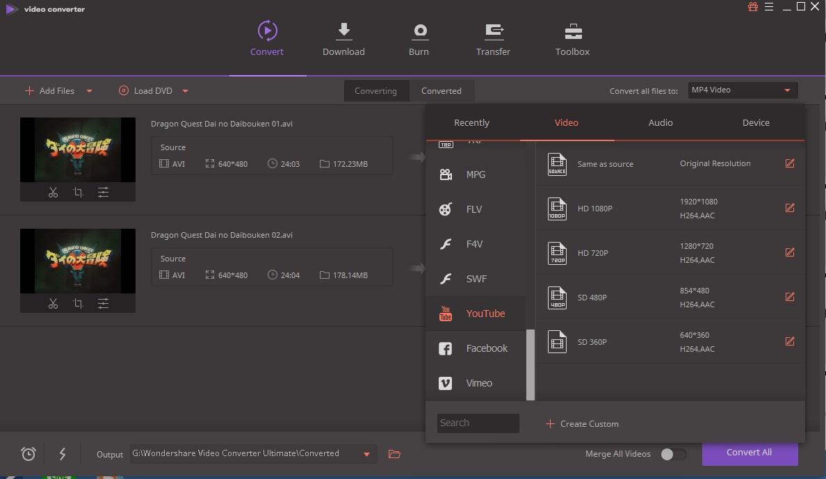 4415 Wondershare Video Converter Ultimate 10.2.5.166 แปลงไฟล์หนังรูปแบบต่าง ๆ