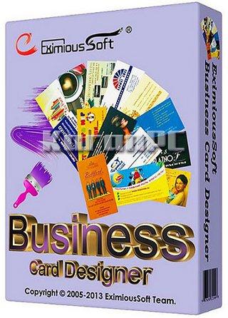 4477 EximiousSoft Business Card Designer 5.11 ออกแบบนามบัตร