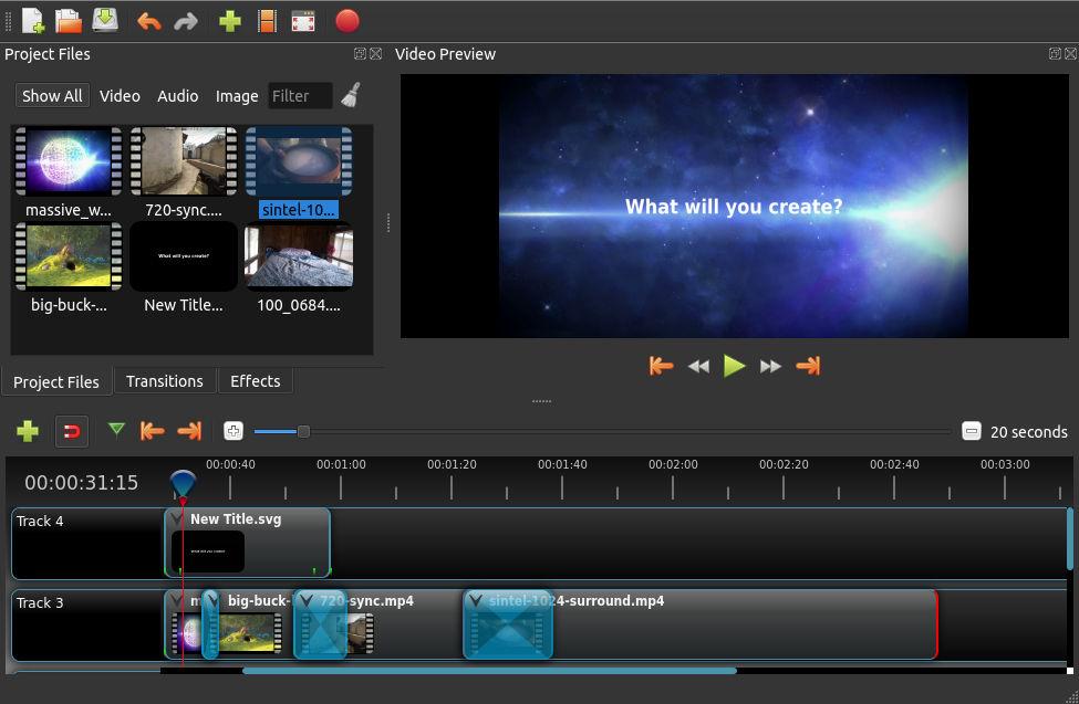 4484 OpenShot Video Editor 2.4.2 x32 x64 ตัดต่อวีดีโอรองรับ 4k
