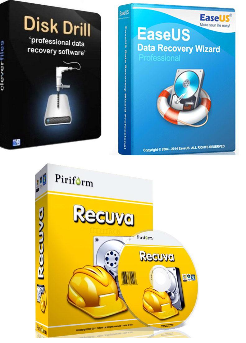 4672 รวมโปรแกรมกู้ข้อมูล 3 โปรแกรม Vol.1
