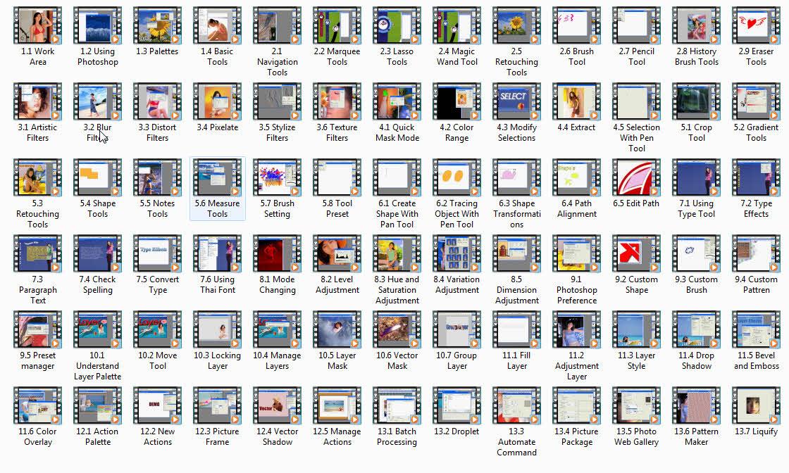 4675 สอน Photoshop ระดับ Pro (ภาษาไทย)