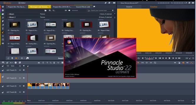 5143 Pinnacle Studio Ultimate 22.0.1.146 x64 +Content Pack +Crack