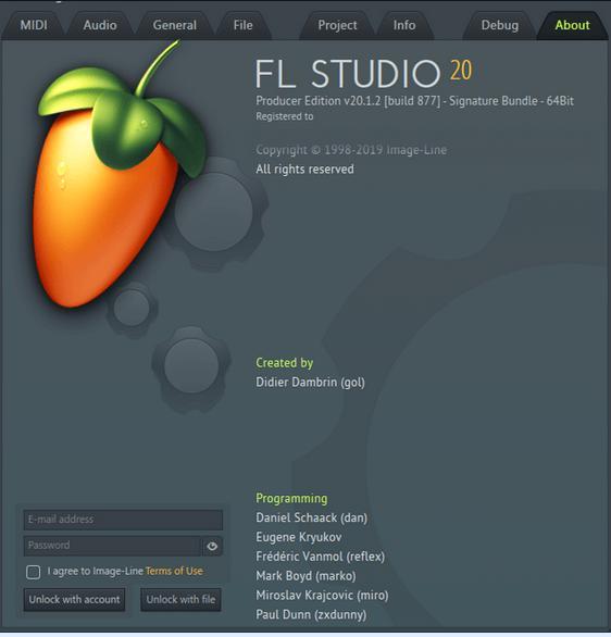 5144 Image-Line - FL Studio Producer Edition 20.1.2.877 +Regkey