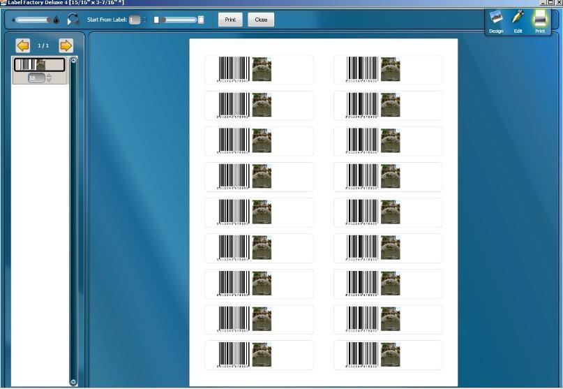 5318 Art Explosion Label Factory Deluxe 4.0.0.5 ออกแบบ Label