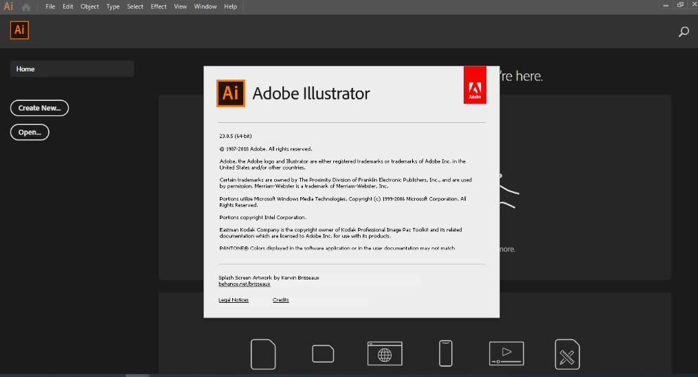 5328 Adobe Illustrator 2019 23.0.5.619 ไม่ต้อง Crack