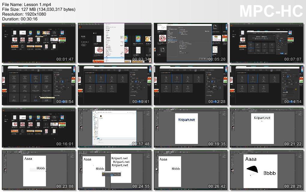 5331 สอนโปรแกรม Illustrator CC พื้นฐาน (.mp4)