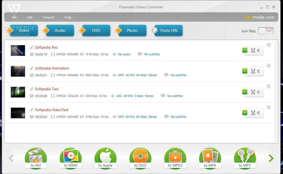 6066 Freemake Video Converter 4.1.11.34 แปลงไฟล์วิดีโอทุกชนิด