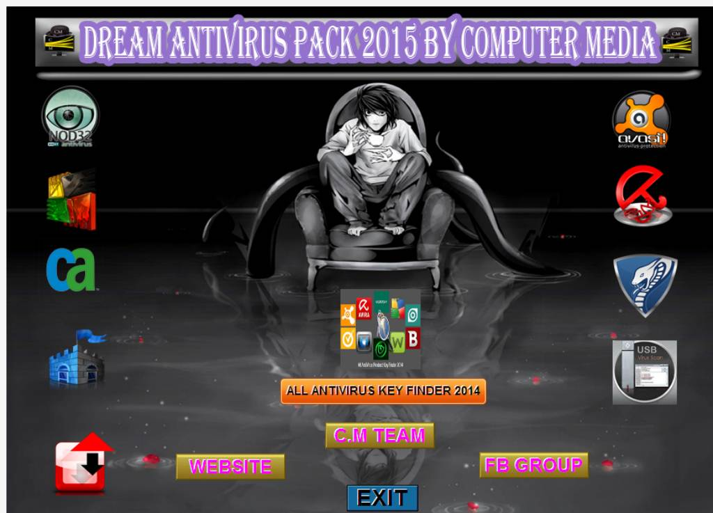 1530 Dream AIO Antivirus Pack 2015