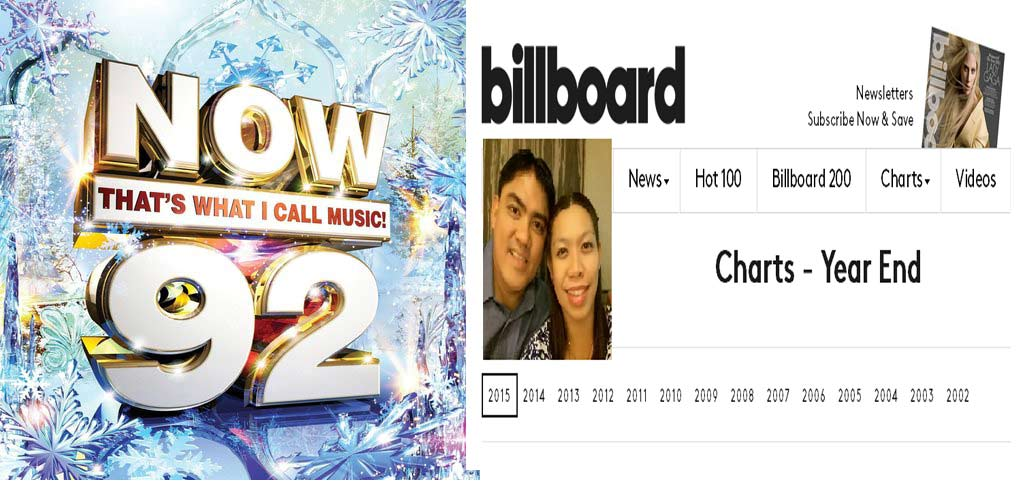 2536 Top 100 Songs Billboard 2015+Now That's What I Call Music! 92 2015