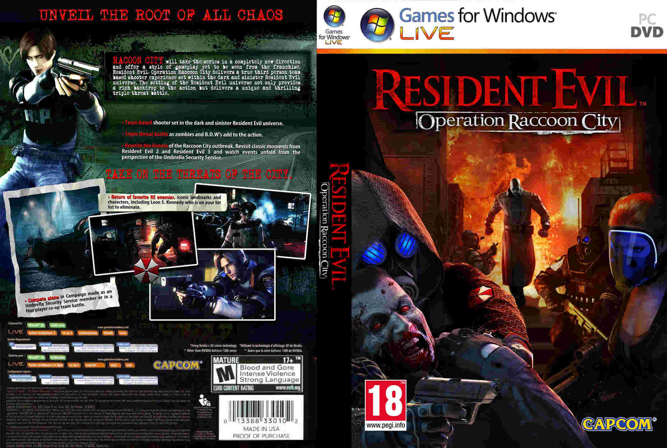 2882 Resident Evil - Operation Raccoon City