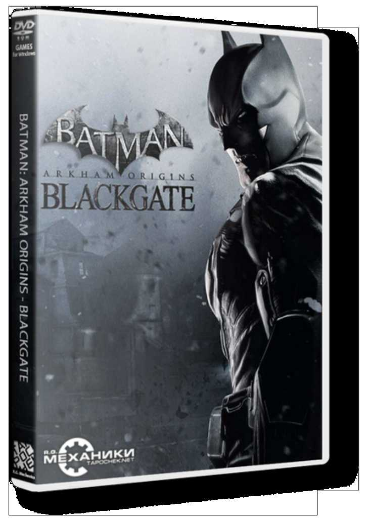 2907 Batman-Arkham Origins Blackgate