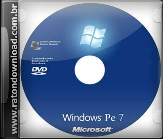 3118 Windows 7 PE clean & simple bootable