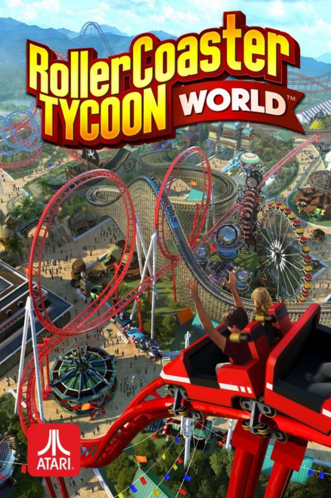 3400 RollerCoaster Tycoon World RELOADED