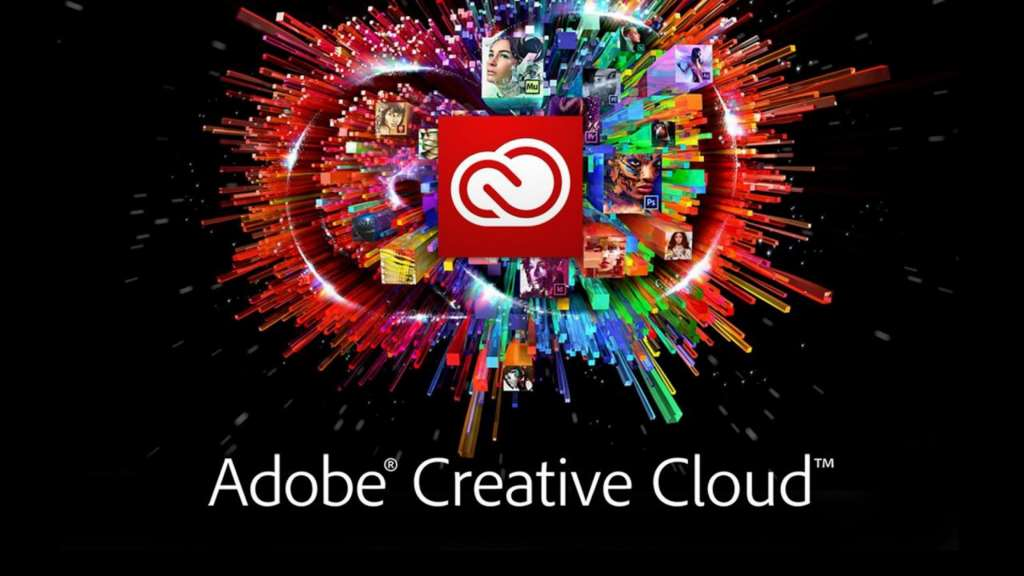 3416 Adobe Creative Cloud 2017 Suite (MAC) 4DVD