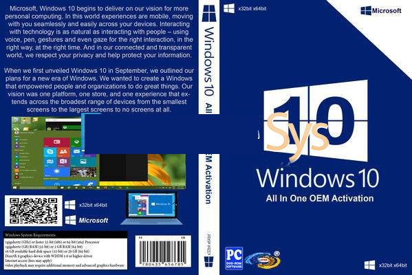 3469 Windows 10 AIO 16in1 RS1 14393.594 X64 & X86 Jan 2017 Preactivated