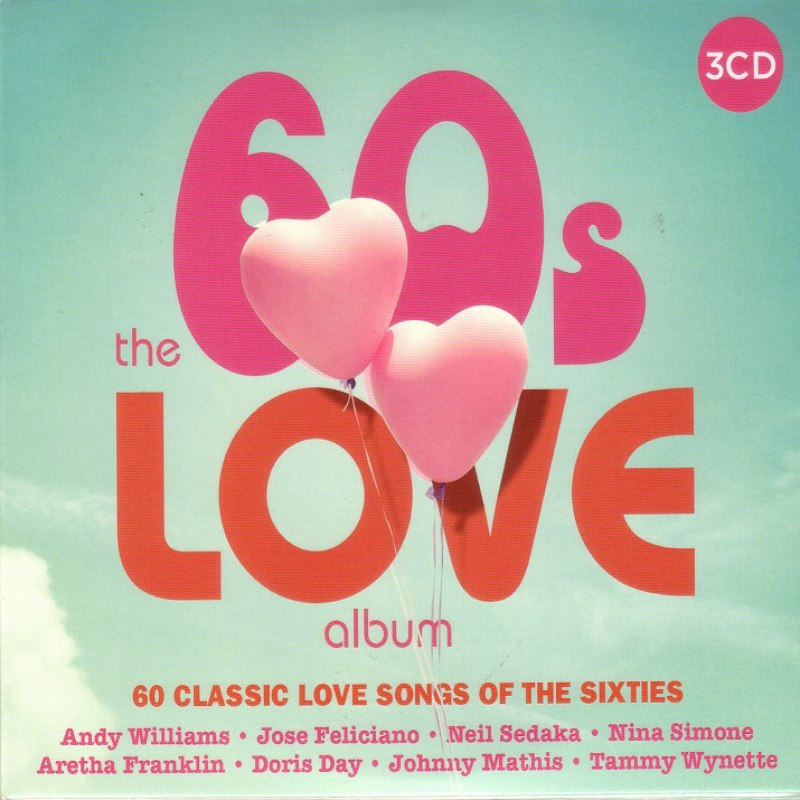 4005 The 60's Love Album 3CD IN 1