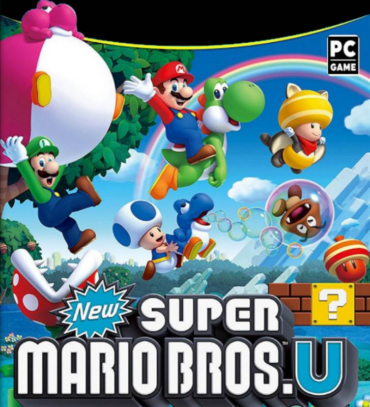 4171 NEW SUPER MARIO BROS. U + NEW SUPER LUIGI U