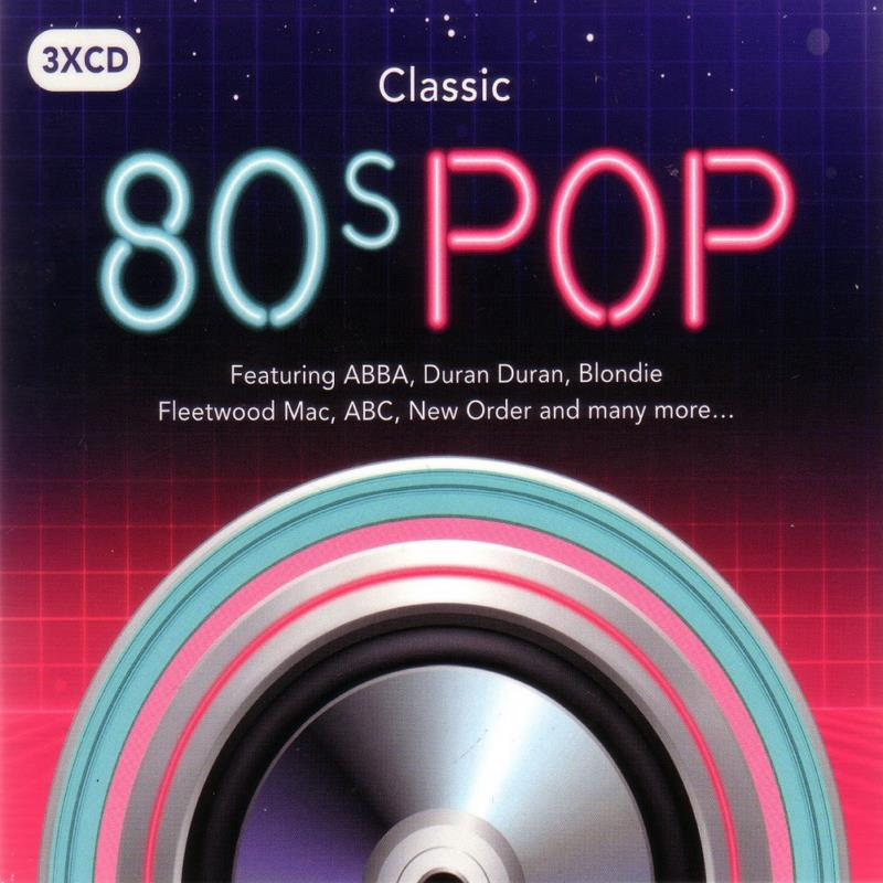 4439 Classic 80's Pop 3CD IN 1