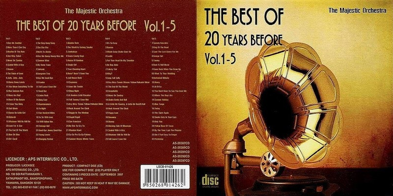 4498 The Best Of 20 Years Before Vol.1-5