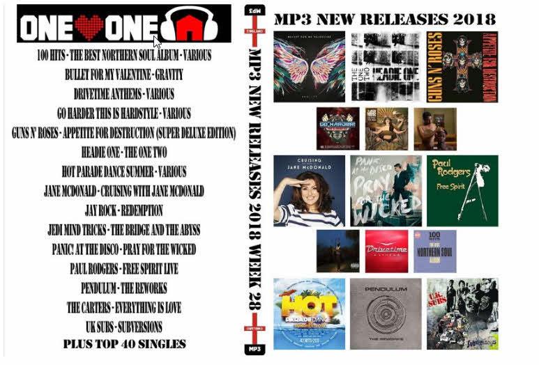 4534 MP3 NEW RELEASES 2018 WEEK 28
