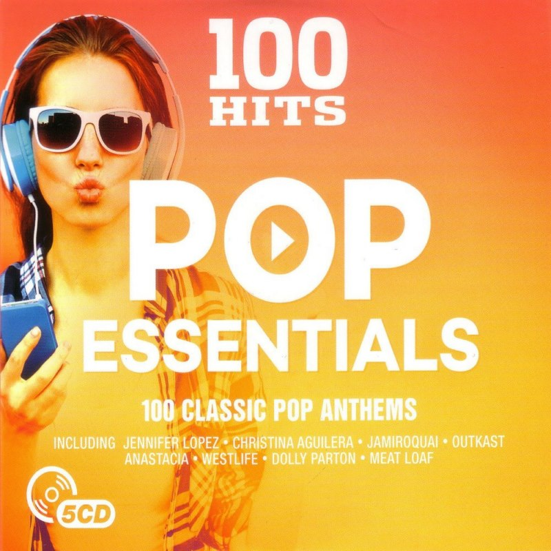 4541 100 Hits Pop Essentials 5CD IN 1