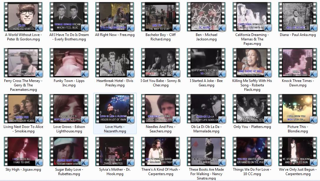 4977 Karaoke Original Footage Vol.1 - 3 (.mpg)